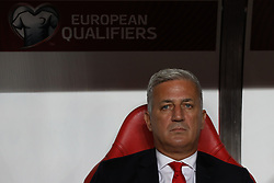 October 10, 2017 - Lisbon, Lisbon, Portugal - Switzerland head coach Vladimir Petrovic during the match between Portugal v Switzerland - FIFA 2018 World Cup Qualifier match at Luz Stadium on October 10, 2017 in Lisbon, Portugal. (Credit Image: © Dpi/NurPhoto via ZUMA Press)