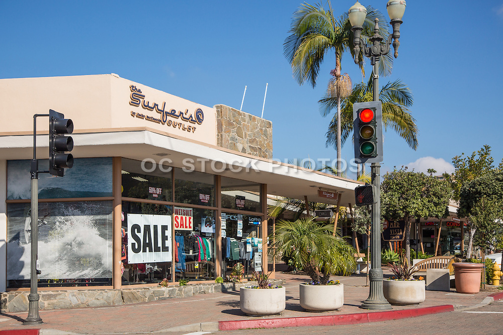 The Surfer's Outlet and Jacks Surfboards in Downtown San Clemente Corner of Ola Vista and Del Mar