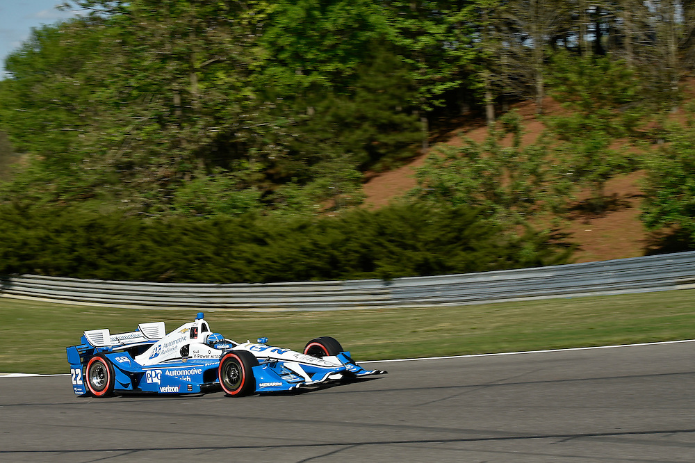 22-24 April, 2016, Birmingham, Alabama USA <br /> 22 Simon Pagenaud<br /> &copy;2016, Scott R LePage <br /> LAT Photo USA