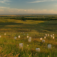 Crow Agency,MT:This area memorializes the U.S. Army's 7th Cavalry and the Sioux and Cheyenne in one of the Indians last armed efforts to preserve their way of life. Here on June 25, 1876, 263 soldiers and attached personnel of the U.S. Army, including Lt. Col. George A. Custer, died fighting several thousand Lakota and Cheyenne warriors.