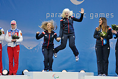 March 10th 2014 - Medal Ceremonies Womens XC and Super G