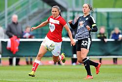 Jo Potter of Reading Women chases down Abi Harrison of Bristol City- Mandatory by-line: Nizaam Jones/JMP- 31/03/2019 - FOOTBALL - Stoke Gifford Stadium - Bristol, England - Bristol City Women v Reading Women - FA Women's Super League 1
