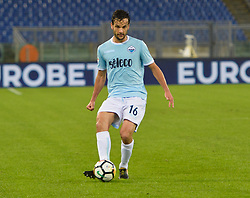 October 22, 2017 - Rome, Italy - Marco Parolo during the Italian Serie A football match between S.S. Lazio and Cagliari at the Olympic Stadium in Rome, on october 22, 2017. (Credit Image: © Silvia Lore/NurPhoto via ZUMA Press)