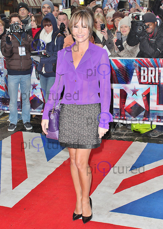 LONDON - January 23: Amanda Holden at the Britain's Got Talent London Auditions (Photo by Brett D. Cove)