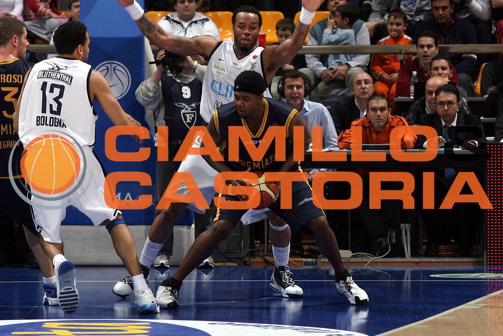 DESCRIZIONE : Bologna Lega A1 2006-07 Climamio Fortitudo Bologna Premiata Montegranaro<br />GIOCATORE : Slay <br />SQUADRA : Premiata Montegranaro<br />EVENTO : Campionato Lega A1 2006-2007 <br />GARA : Climamio Fortitudo Bologna Premiata Montegranaro<br />DATA : 19/11/2006 <br />CATEGORIA : <br />SPORT : Pallacanestro<br />AUTORE : Agenzia Ciamillo-Castoria/M.Marchi