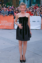 Actress PIPER PERABO arrives to the 'Looper' opening night gala premiere at Roy Thompson Hall during the 2012 Toronto International Film Festival. Photo By Christopher Drost/i-Images
