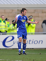 Photo: Tony Oudot/Richard Lane Photography. Northampton Town v Leicester City. Coca-Cola Football League One. 31/01/2008. <br /> Steve Howard of Leicester celebrates his equaliser from the penalty spot