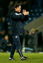 Bristol Rovers manager Darrell Clarke looks dejected after the defeat to Chesterfield - Mandatory by-line: Robbie Stephenson/JMP - 26/11/2016 - FOOTBALL - The Proact Stadium - Chesterfield, England - Chesterfield v Bristol Rovers - Sky Bet League One