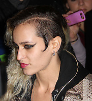Alice Dellal arrives for the Premiere of 'The Commuter' held at Aqua, London, UK, 25 October 2010: For piQtured Sales contact: Ian@Piqtured.com +44(0)791 626 2580 (picture by Richard Goldschmidt)