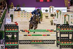 MUFF Werner (SUI), Flying Rocky<br /> Frankfurt - Festhallen Reitturnier 2019<br /> Spielbank Wiesbaden Preis<br /> 2. Qualifikation Youngster Tour <br /> Int. Springprüfung (Fehler/ Zeit) für 7-8 jährige Pferde (1,40m)<br /> 21. Dezember 2019<br /> © www.sportfotos-lafrentz.de/Stefan Lafrentz