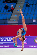 Averina Arina is a Russian gymnast born in Zavolž'e on 13 August 1998. She is the 2017 World All-around silver medalist. Her twin sister Dina Averina, also a rhythmic gymnastics athlete.