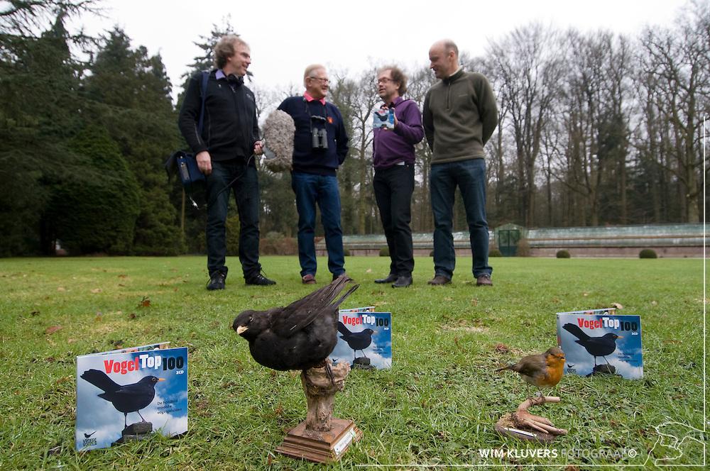 Hilversum 20100224.Vara,vroege vogels uitreiking vogel top 100