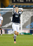 Millwall midfielder Shaun Williams celebrates his goal during the Sky Bet League 1 match between Millwall and Bury at The Den, London, England on 28 November 2015. Photo by David Charbit.