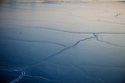 The ice covered port of Vladivostok in Russia, Sea of Japan (East Sea). Vladivostok, Russian Federation, Russia, RUS, 13.01.2010.