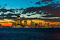 Skyline, Jersey City, New Jersey USA.