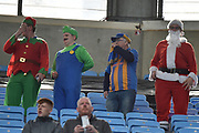 Shrewsbury fans wearing fancy dress during the EFL Sky Bet League 1 match between Coventry City and Shrewsbury Town at the Ricoh Arena, Coventry, England on 28 April 2019.