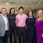 31.05.2018.          <br /> LEO Limerick welcomed Sean Gallagher to Limerick to talk about his new book 'Secrets to Success- Inspiring Stories from Leading Entrepreneurs'.<br /> Pictured at the event in Thomond Park were, Paddy Finn, Electricity Exchange, Deborah Finn, Dell, Mark O'Toole, Vicki O'Toole, JJ O'Tooles and Maria Donnellan, EY. Picture: Alan Place