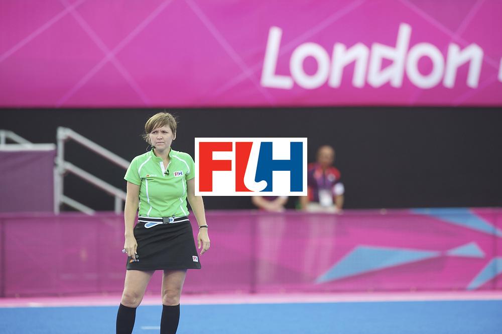 LONDON - Olympische Spelen 2012.women match.South Africa v Germany.Foto: Elena Eskina..FFU PRESS AGENCY COPYRIGHT Frank Uijlenbroek.