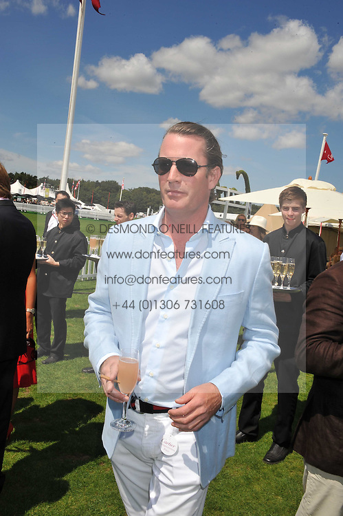 RORY FLEMING at the 27th annual Cartier International Polo Day featuring the 100th Coronation Cup between England and Brazil held at Guards Polo Club, Windsor Great Park, Berkshire on 24th July 2011.