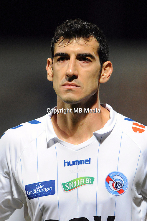 Felipe SAAD of Strasbourg during the Ligue 2 match between Clermont Foot and RC Strasbourg Alsace at Stade Gabriel Montpied on September 22, 2016 in Clermont-Ferrand, France. (Photo by Jean Paul Thomas/Icon Sport)