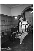 Tommy Leigh-Pemberton,  St Moritz 1985© Copyright Photograph by Dafydd Jones 66 Stockwell Park Rd. London SW9 0DA Tel 020 7733 0108 www.dafjones.com