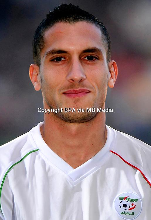 Fifa Brazil 2014 World Cup - <br /> Algeria  Team - <br /> Ismael BOUZID