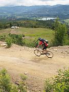 Cycling backroads near Bogota - Colombia