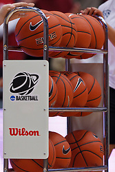 Nov 13, 2011; Stanford CA, USA;  Detailed view of a rack of basketballs before the game between the Stanford Cardinal and the Gonzaga Bulldogs at Maples Pavilion.  Stanford defeated Gonzaga 76-61. Mandatory Credit: Jason O. Watson-US PRESSWIRE