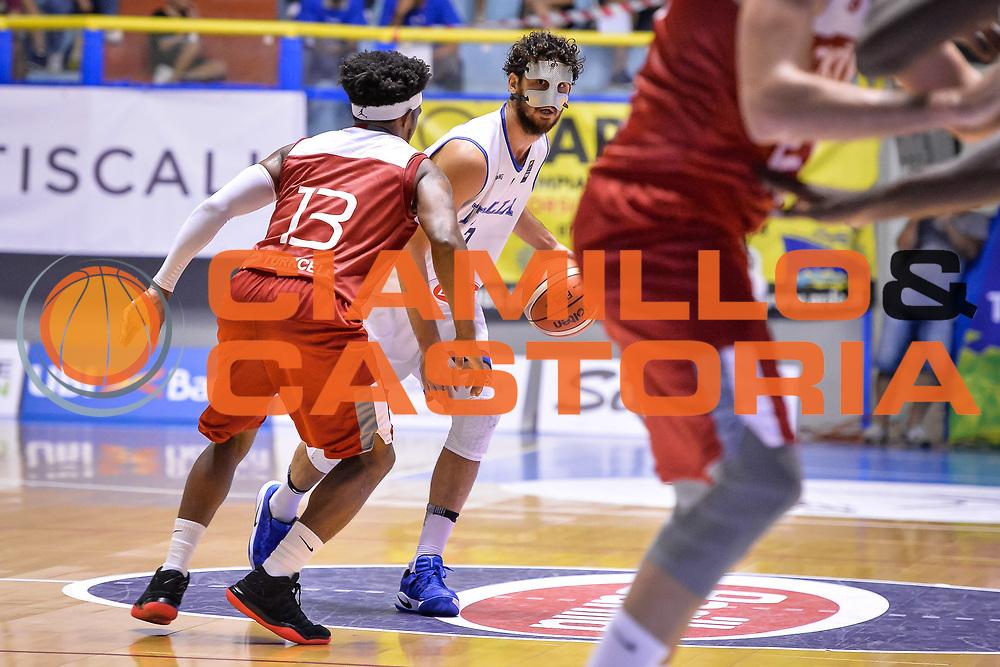 Luca Vitali<br /> Nazionale Italiana Maschile Senior - Sardegna a Canestro 2017<br /> Italia - Turchia Italy - Turkish <br /> FIP 2017<br /> Cagliari, 13/08/2017<br /> Foto M.Ozbot / Ciamillo-Castoria