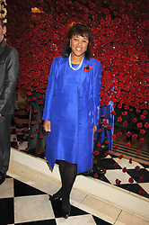BARONESS SCOTLAND at a party to celebrate the 10th Anniversary of Claridge's Bar, Claridge's Hotel, Brook Street, London on 11th November 2008.