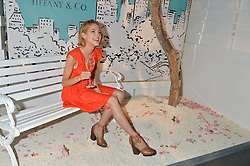 TESS WARD at the Tiffany & Co. Exhibition 'Fifth And 57th' Opening Night held in The Old Selfridges Hotel, Orchard Street, London on 1st July 2015.