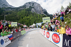 Vrsic during Stage 3 from Skofja Loka to Vrsic (170 km) of cycling race 20th Tour de Slovenie 2013,  on June 15, 2013 in Slovenia. (Photo By Vid Ponikvar / Sportida)