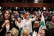 Chiusura della campagna elettorale per l'elezioni Europee 2014 di Forza Italia, Roma 22 maggio 2014.  Christian Mantuano / OneShot<br /> <br /> Political meeting for the European elections of Forza Italia party, Rome 22 May 2014. Mantuano Christian / OneShot