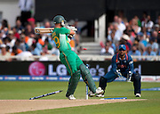 Herschelle Gibbs bowled by RP Singh during the ICC World Twenty20 Cup match between South Africa and India at Trent Bridge. Photo © Graham Morris (Tel: +44(0)20 8969 4192 Email: sales@cricketpix.com)
