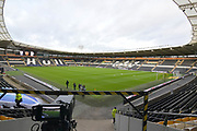 Hull City KCOM ground before the EFL Sky Bet Championship match between Hull City and Nottingham Forest at the KCOM Stadium, Kingston upon Hull, England on 28 October 2017. Photo by Ian Lyall.