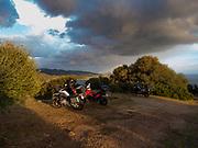 At the villa near Cagliari