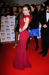Rachel Shenton at the National Television Awards held in London on Wednesday, 25th January 2012. Photo by: i-Images