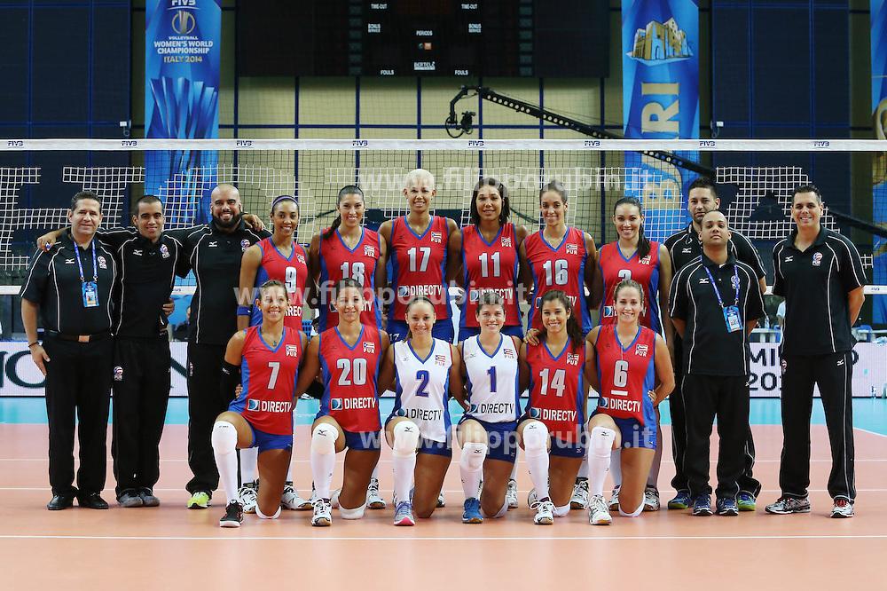 Puerto Rico team photo