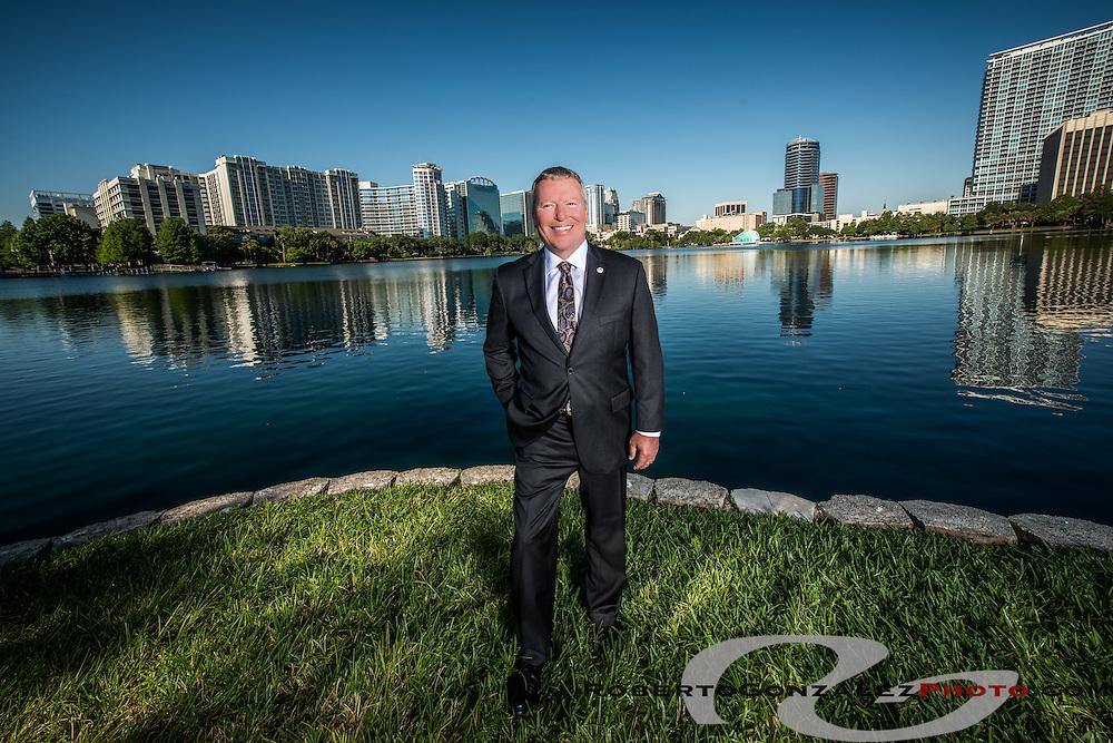 Buddy Dyer, Orlando mayor, 50 Most, May 14, 2013. Photo by Roberto Gonzalez