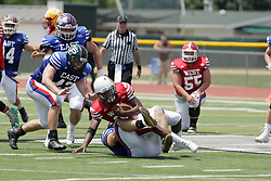 16 June 2018: Shriner All Star Football game on Wilder Field in Tucci Stadium in Bloomington Illinois<br /> #ShrinerAllStarFootball