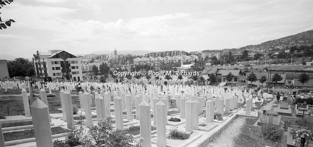 Lion cemetery, Sarajevo.