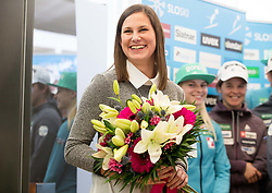 Eva Logar during press conference of Slovenian Nordic Ski team before new season 2017/18, on November 14, 2017 in Gorenje, Ljubljana - Crnuce, Slovenia. Photo by Vid Ponikvar / Sportida