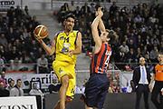 DESCRIZIONE : Ancona Lega A 2012-13 Sutor Montegranaro Angelico Biella<br /> GIOCATORE : Valerio Mazzola<br /> CATEGORIA : passaggio penetrazione<br /> SQUADRA : Sutor Montegranaro<br /> EVENTO : Campionato Lega A 2012-2013 <br /> GARA : Sutor Montegranaro Angelico Biella<br /> DATA : 02/12/2012<br /> SPORT : Pallacanestro <br /> AUTORE : Agenzia Ciamillo-Castoria/C.De Massis<br /> Galleria : Lega Basket A 2012-2013  <br /> Fotonotizia : Ancona Lega A 2012-13 Sutor Montegranaro Angelico Biella<br /> Predefinita :
