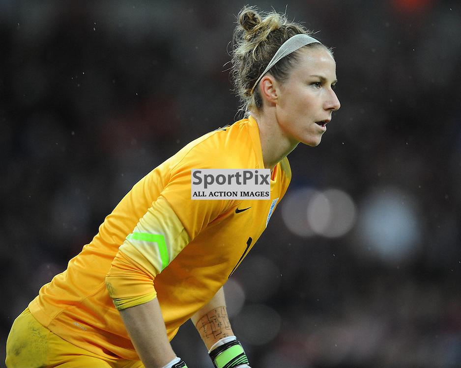Karen Bardsley, England Goalkeeper, England v Germany Ladies, Breast Cancer Care International, Wembley , Sunday 23rd November 2014
