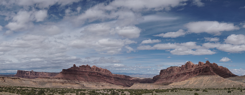 SHOT 5/19/17 4:00:03 PM - Emery County is a county located in the U.S. state of Utah. As of the 2010 census, the population of the entire county was about 11,000. Includes images of mountain biking, agriculture, geography and Goblin Valley State Park. (Photo by Marc Piscotty / © 2017)