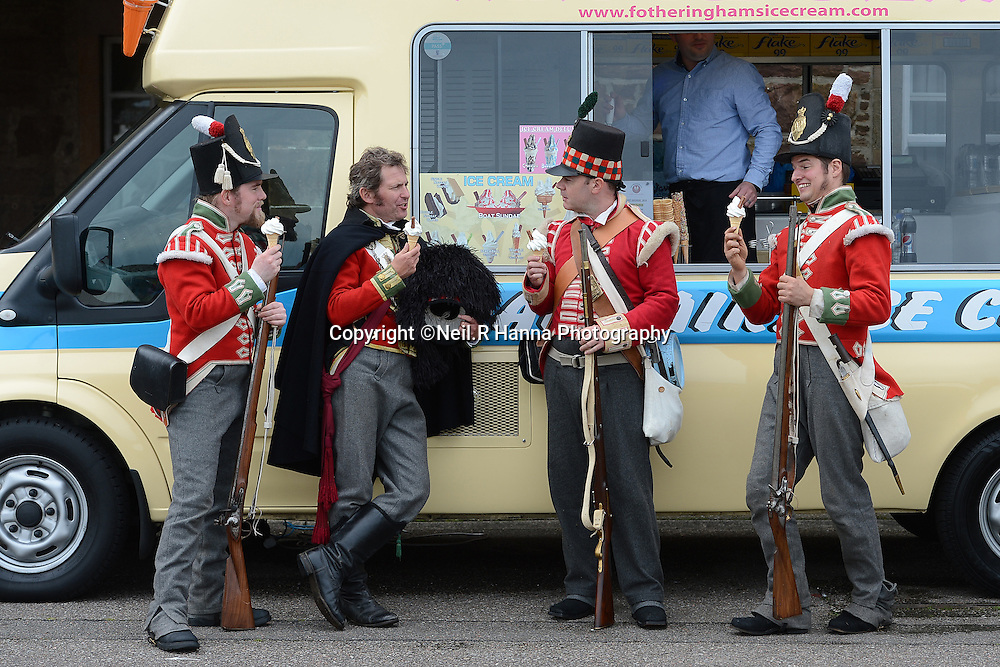Fort George, Inverness 9/08/2014<br /> <br /> The award winning Celebration of the Centuries returns to Fort George in 2014-Saturday 9th & Sunday 10 August 11am-5pm<br /> <br /> Set in one of the finest military fortifications in Europe, the flagship event of Historic Scotland's event calendar celebrates over two thousand years of Scottish history. Once again the Fort came to life as over two hundred and fifty performers depict centuries of history from Picts and Romans, through Viking, Medieval, Renaissance, Reformation and Jacobite eras to World War I and II.<br /> <br />  Neil Hanna Photography<br /> www.neilhannaphotography.co.uk<br /> 07702 246823