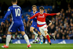 Marten de Roon of Middlesbrough in action - Mandatory by-line: Jason Brown/JMP - 08/05/17 - FOOTBALL - Stamford Bridge - London, England - Chelsea v Middlesbrough - Premier League