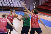 Chamutov 17 Agosto 2012 - qualificazioni Eurobasket 2013 - Allenamento<br /> Nella Foto : DANIEL HACKETT<br /> Foto Ciamillo/Castoria