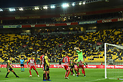 Melbourne keeper Eugene Galekovic during their Hyundai A League match. Wellington Phoenix v Melbourne City FC. Westpac Stadium, Wellington, New Zealand. Saturday 26 January 2019. ©Copyright Photo: Chris Symes / www.photosport.nz