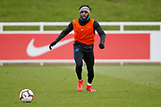 Danny Rose (Tottenham Hotspur)  during the England training session ahead of the UEFA Euro Qualifier against the Czech Repulbic, at St George's Park National Football Centre, Burton-Upon-Trent, United Kingdom on 19 March 2019.